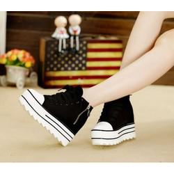 Giày boot đế bánh mì phong cách Hàn Quốc BM049D