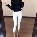 Quần jeans lưng cao sành điệu - JE02