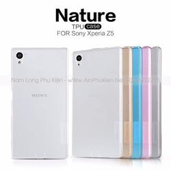 Ốp lưng dẻo Sony Xperia Z5 chính hãng Nillkin
