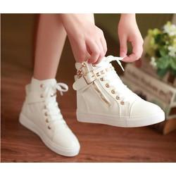 Giày boot thể thao phong cách Hàn Quốc - B002T