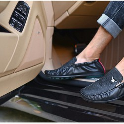 Giày lười chất liệu mềm mại siêu HOT hiện nay