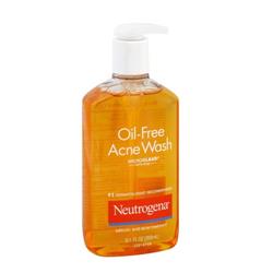 Sữa rửa mặt ngừa mụn cho nam Neutrogena Oil-Free Acne Wash 269ml