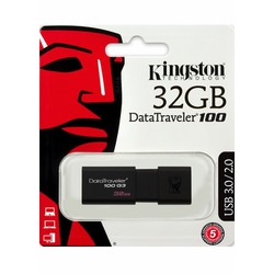 USB 3.0 32GB Kingston DataTraveler 100 G3