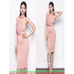 Đầm body cúp ngực lệch vai xinh đẹp và quyến rũ DOV761