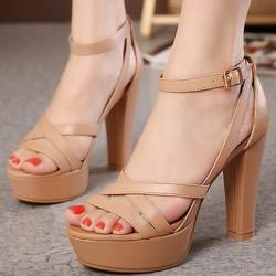 Giày dây da cao gót cho những ngày hè - 104