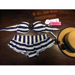 Bikini quần váy phong cách Hàn Quốc Giảm Giá