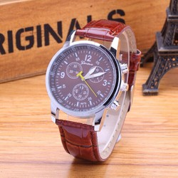 Đồng hồ dây da thiết kế trang nhã cho bạn thêm sang trọng-106