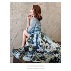 Đầm dạ hội xẻ tà quyến rũ