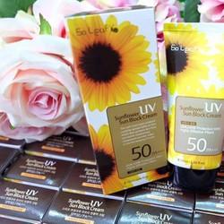 Kem chống nắng ốc sên sunflower UV Sun Block Cream