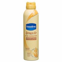 Chai xịt dưỡng thể toàn thân Vaseline Spray and Go
