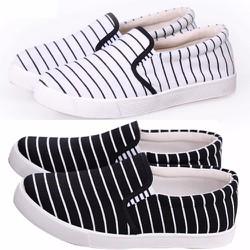 Giày nữ sọc sọc thon gọn cho đôi chân - 176