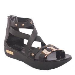 Giày Chiến Binh Sandal Nữ Đế Bánh Mì