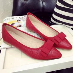 Giày búp bê thiết kế đơn giản cho bạn gái thêm tinh tế-145