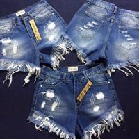 Quần shorts nữ thông dụng dể phối áo cho nàng tha hồ lựa chọn-163
