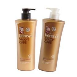 Cặp dầu gội và xả Kerasys Hàn Quốc dành cho tóc hư tổn nặng