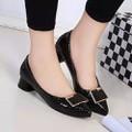 Giày búp bê nữ có gót thấp tạo dáng vẻ đáng yêu - 172