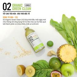 02 Organic Green Clean Level 2 - Tốt cho hệ tiêu hóa