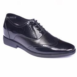 Giày da công sở sang trọng, đế tăng chiều cao 6,5cm