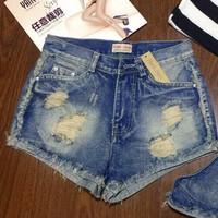 Quần shorts nữ thông dụng dể phối áo cho nàng tha hồ lựa chọn-160