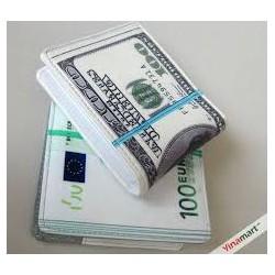 Bóp Da Nam Hình Tiền 100 USD