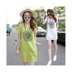 Váy chữ A nữ  phong cách Hàn Quốc  kiểu dáng rộng rãi