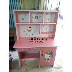 Bộ bàn ghế học sinh liền giá sách giá rẻ   0933175550