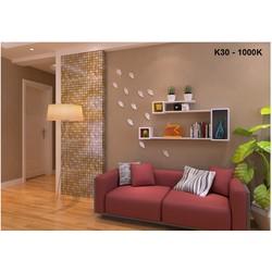 Kệ gỗ treo tường phòng khách đẹp K30
