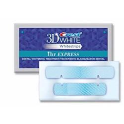 Bộ 2 miếng dán trắng răng cấp tốc 1h Crest 3D White 1h Whitestrips Mỹ
