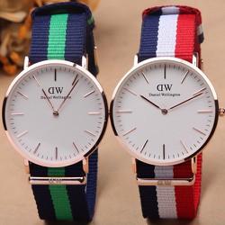 Đồng hồ mặt tròn thời trang năng động dành cho các bạn nữ-123