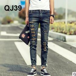 Quần Jeans nam Hàn Quốc Loser QJ39