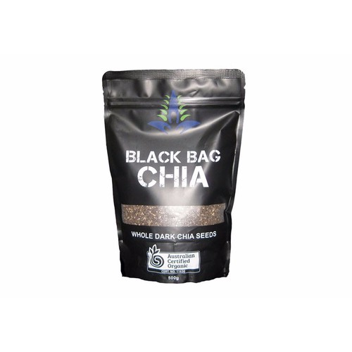 Hạt Chia Úc EM Super Foods Black Bag Chia ,500g
