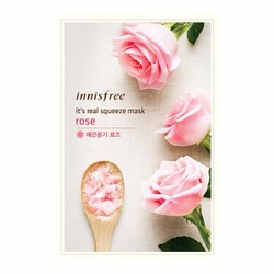 Mặt nạ chiết xuất từ hoa hồng Innisfree Its Real Squeeze Rose Mask