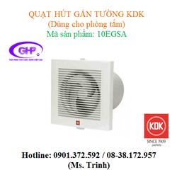 Quạt hút gắn tường dùng cho phòng tắm KDK 10EGSA