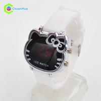 Đồng hồ Nữ Kitty Led DHA087-D0248 - Trắng