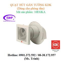 Quạt hút gắn tường dùng cho phòng tắm KDK 10EGKA