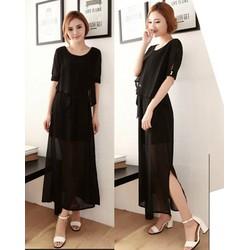 Bộ váy nữ thời trang,trẻ trung, phong cách nữ tính-D2440