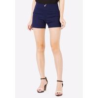 Quần Short Shorts Sooc Đùi Vải Zip Nữ Co Giãn Chất Đẹp 017CC N