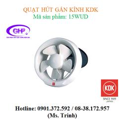 Quạt hút gắn kính KDK 15WUD