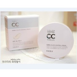 CC Cream The Face Shop Face It Aura Color Control Cream SPF 30 PA +++