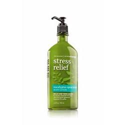 Dưỡng thể giảm stress lotion Bath BodyWorks hương Eucalyptus Spearmint