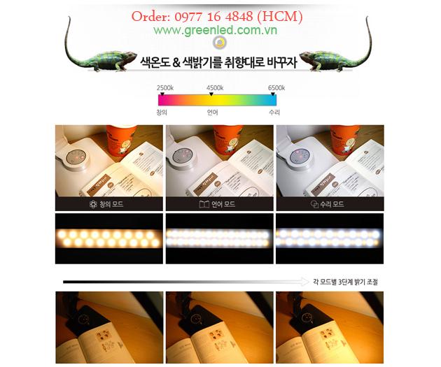 Đèn bàn học bảo vệ thị lực đổi màu giá chỉ 2,630k 1