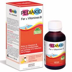 PediaKid bổ sung Sắt và Vitamin B
