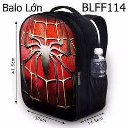 Balo Teen - Học sinh Logo Spiderman HOT - VBLFF114