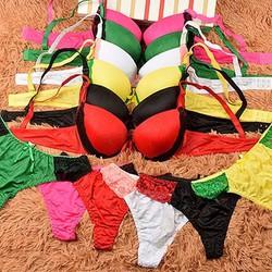 set áo ngực với quần lót cùng tông co giản tốt cho nàng thỏi mái-101