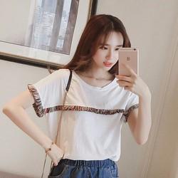 Áo T-shirt rua trang trí nữ tính dễ thương - Y HÌNH
