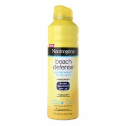 Kem chống nắng xịt Neutrogena Beach defense water sun Spray SPF 70