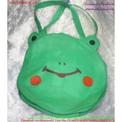 View  Túi đeo đi học đi chơi chú ếch xanh đáng iu nghộ nghĩnh TDHDC36