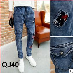 Quần Jeans nam Hàn Quốc QJ40