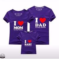 Set áo thun gia đình in 3D cao cấp - dành cho 3 người -DX514225