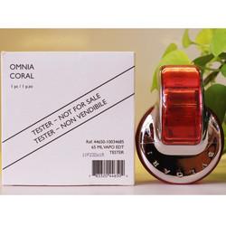 Nước hoa nữ xách tay BVL OMNIA CORAL TESTER 65ML